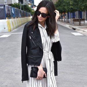Dresses & Skirts - Midi length pin striped dress